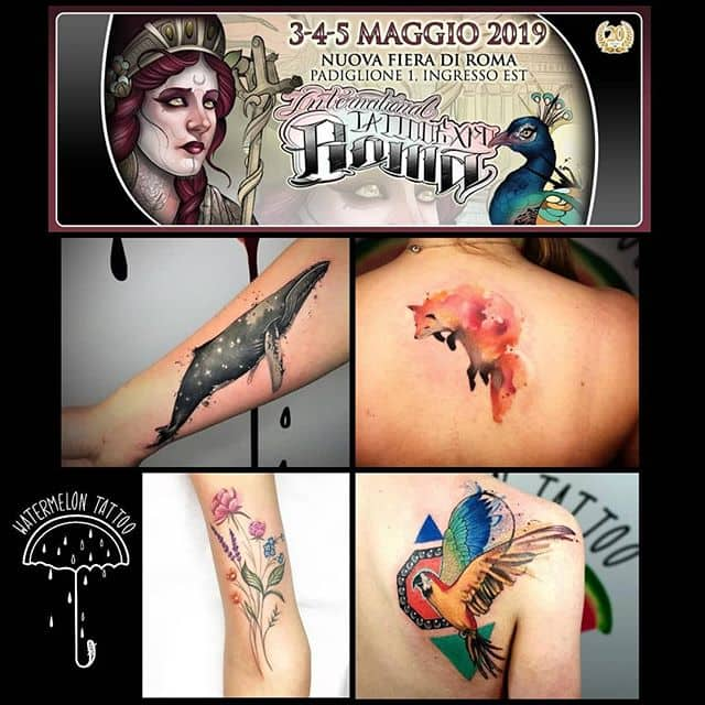 Noemi is taking bookings for International Tattoo Expo Rome. 3,4,5 May.
