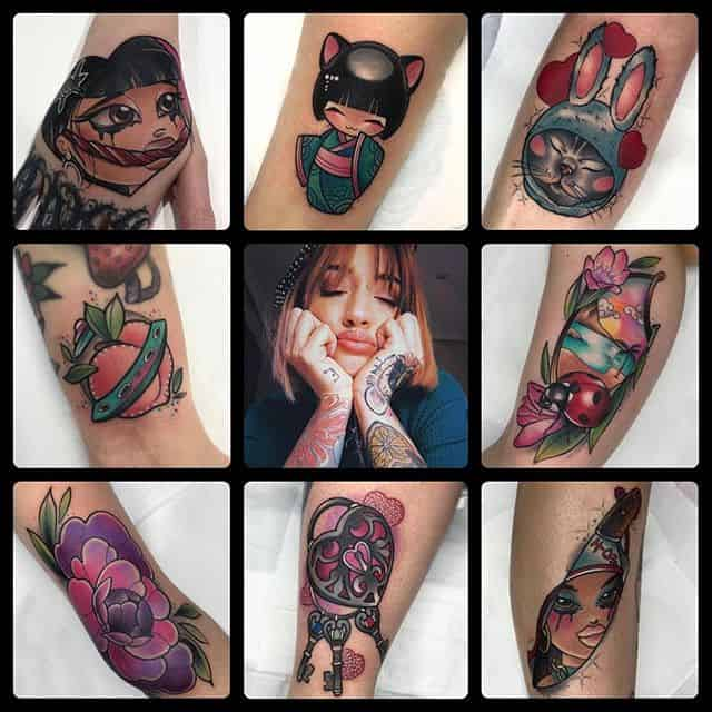 Yiaza Duran will be guesting at Watermelon Tattoo from 12th to 16th August. Fill out the enquiry form on the homepage of our website to book in!!!!!