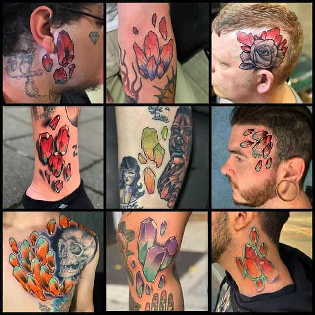 All the way from Philadelphia... Flipshades aka Ol' Snake Face aka Rick Meggison will be gracing us with his presence from 7 to 13th November. He's booked out this week bar a small 1.5 hour slot on Saturday and has a few spaces left next week! Get your enquiries in asap!!!
