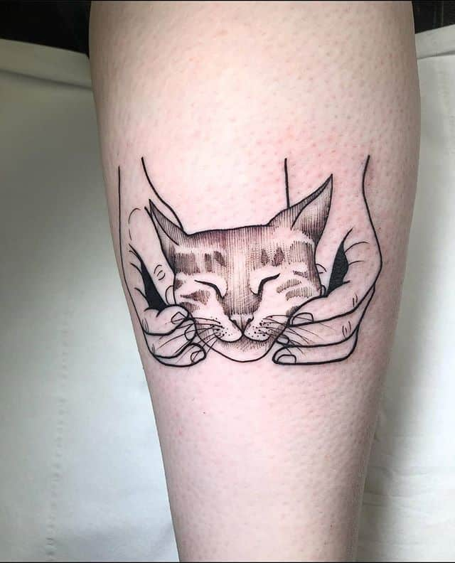 A cute wee cat from Noemis flash! Thanks so much Lynsey!!!!