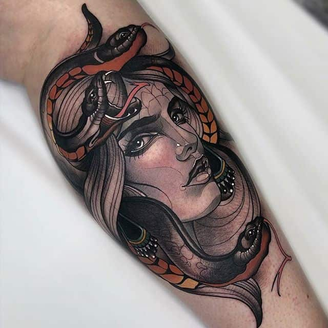 Beautiful take on Medusa by Adriana for our lovely returning customer Mackenzie!!!