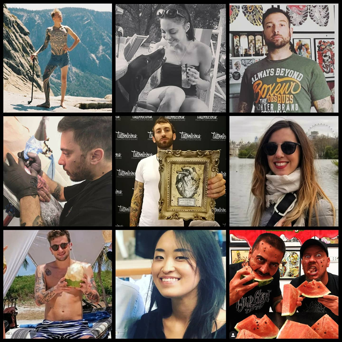 Shout out to these legends. Unfortunately they have all had to cancel their guest spots with us due to the Corinavirus but they will all definitely be back! All customers previously booked and affected by the cancellations will get priority for the first slots. Wishing they all stay safe.... Give them a follow!