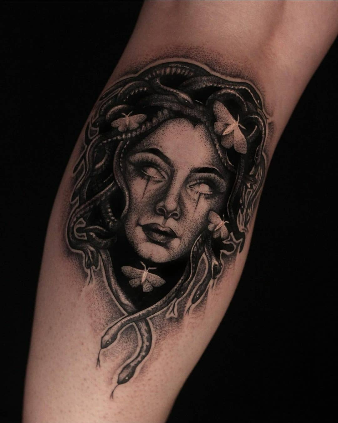 Medusa by Liz! Done a few weeks back :)
