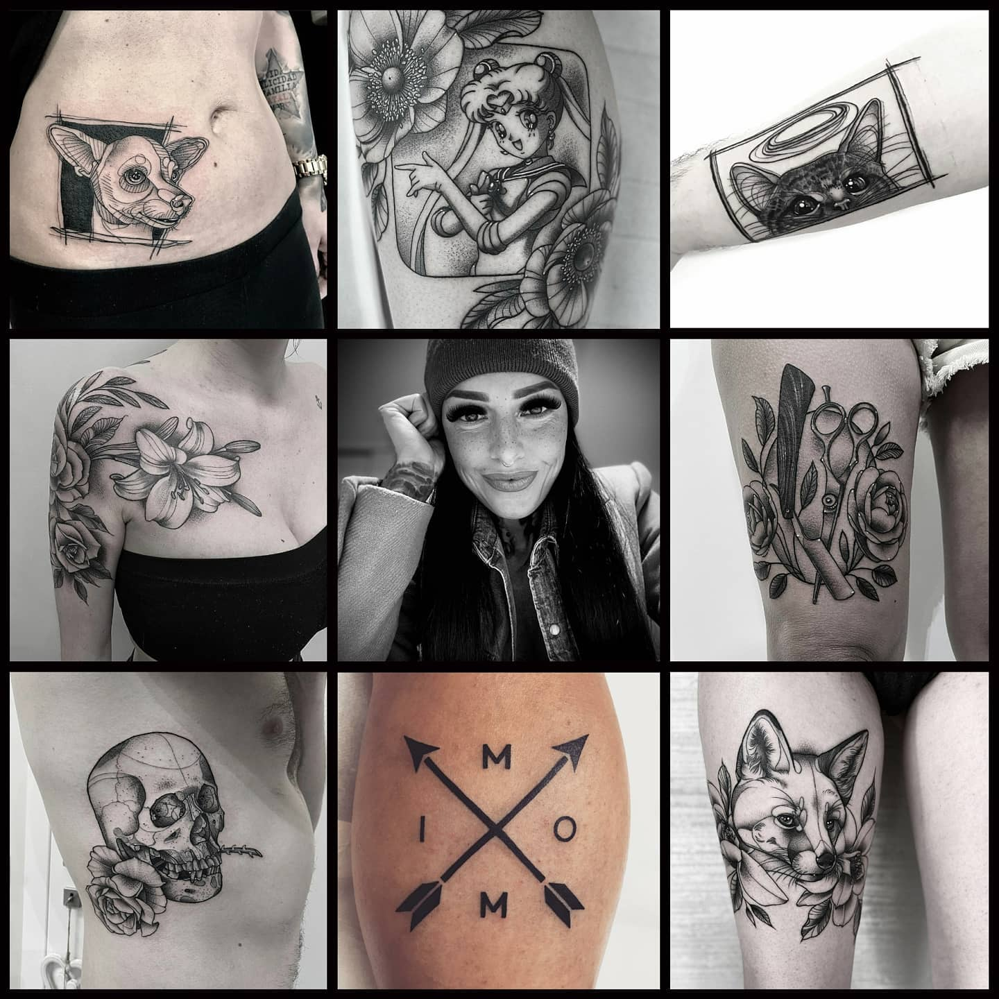 We are super excited to announce that Elena Lamberti will be joining us for a guest spot between 9th and 14th November! Can't wait to meet you! @elelamb_tattoo