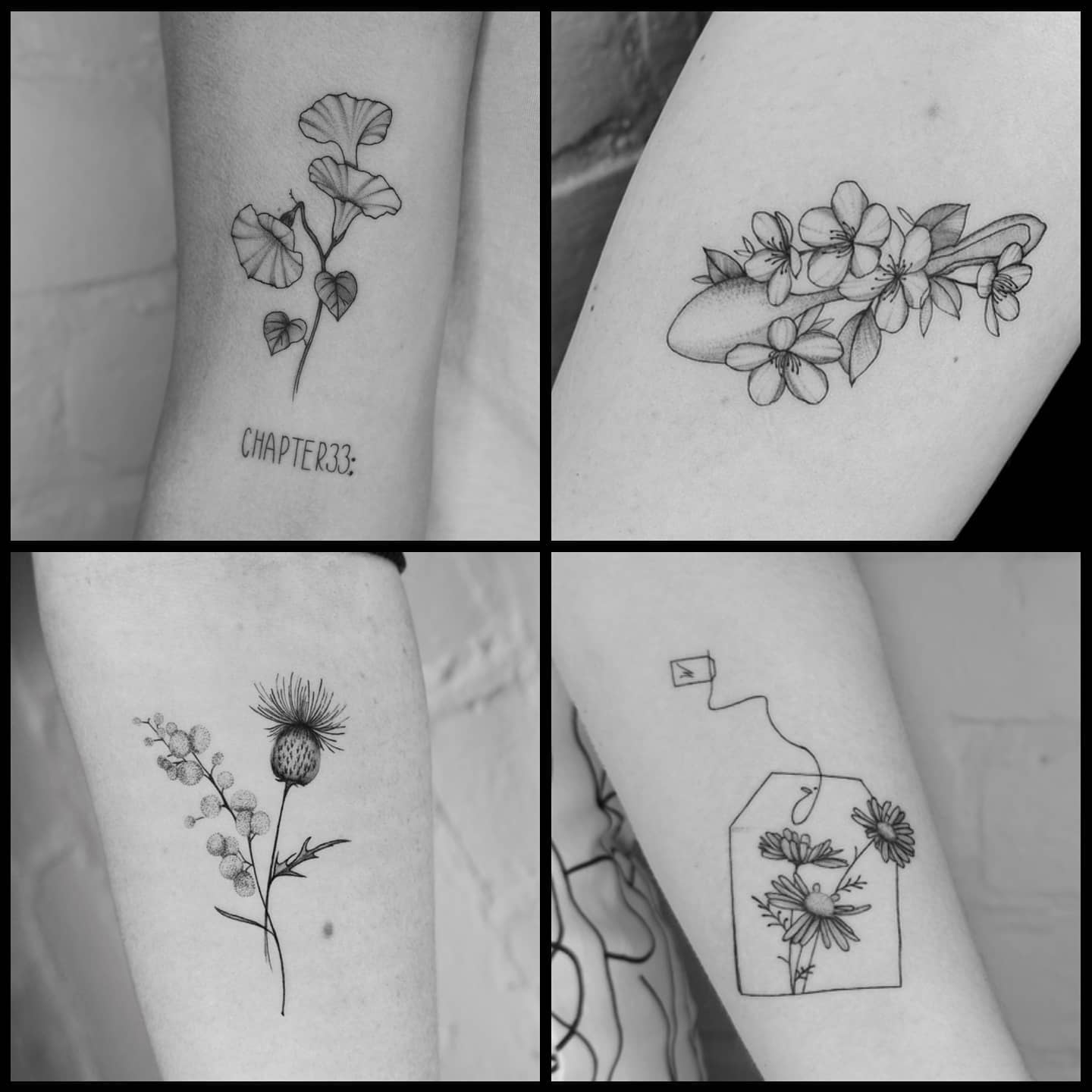 A wee selection of gorgeous tattoos by Yolanda during her guest spot with us. Thanks so much to all our customers who booked in with her and to Yolanda for a wonderful week. yolanda_tattooart