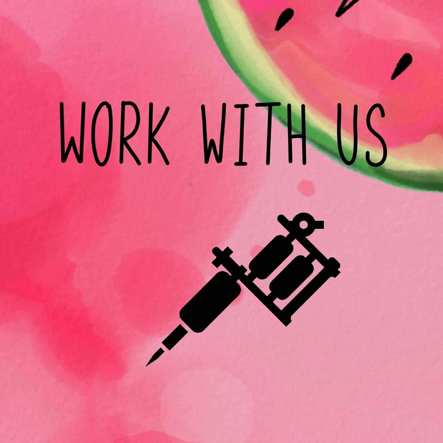 We are looking for a new residential artist to join the crew! Due to an overwhelming demand for linework tattoos you must be competent in linework, however any other any styles considered. To apply please head to our website: watermelon.tattoo and click on the 'Work With Us' section. There will be some info about us, what we provide and what we expect from you. Fill out the form on the page and we will get back to you as soon as we can. Note: this is not an apprenticeship opportunity.