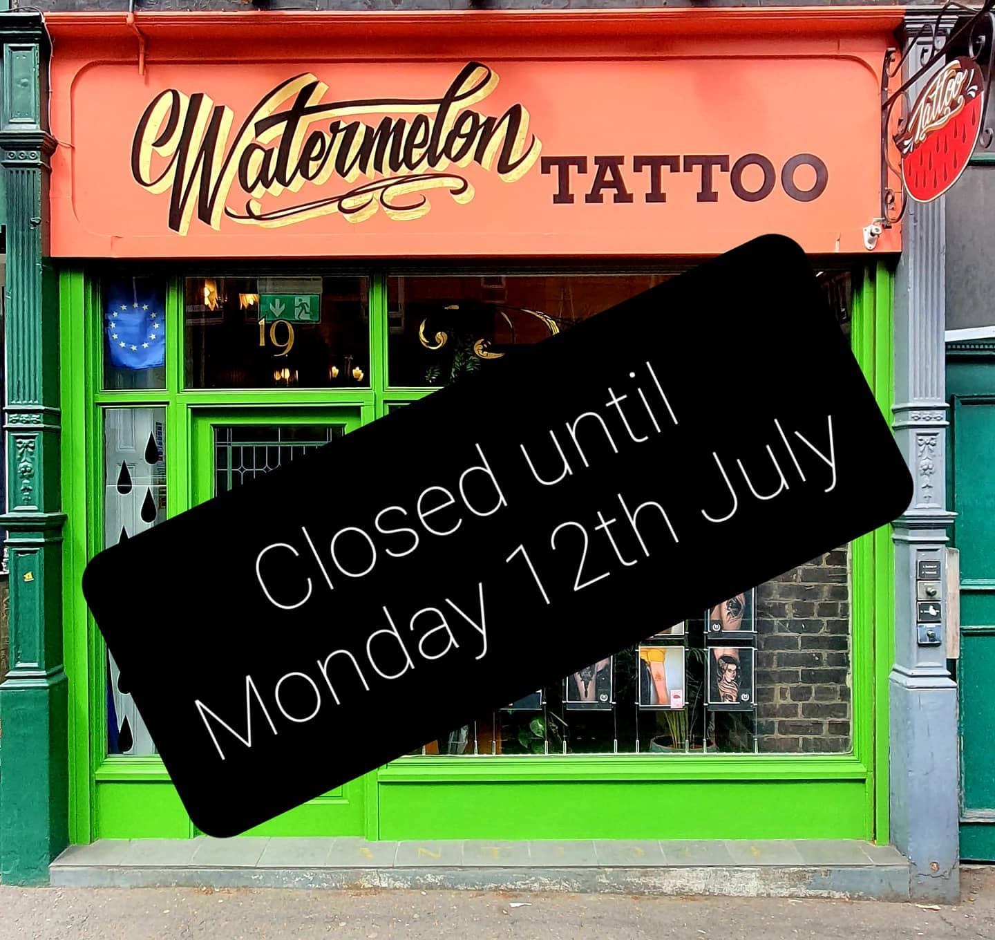 We are closed until Monday 12th July for a much needed rest with the family!